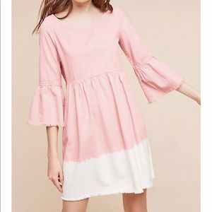 Anthro Holding Horses Lilibet Ombre Babydoll Dress